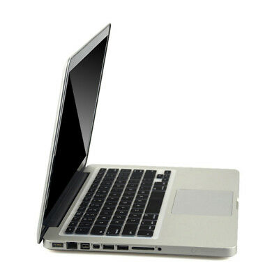 Black Silicone Keyboard Cover Protect Skin Film For MacBook Pro Retina 15""