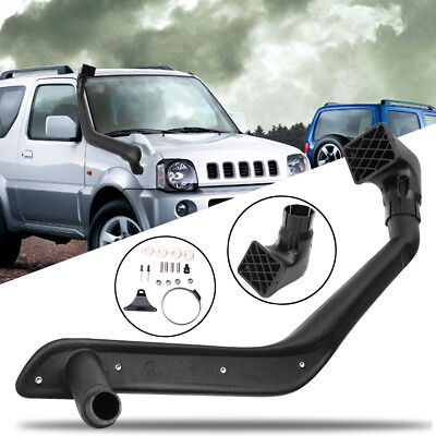 New Snorkel Kit Raised Ram Air Intake System For Suzuki Jimny 1998 Onwards Nero
