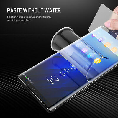 for Samsung Galaxy Note 9 Note 8 ROCK HYDROGEL AQUA FLEX Screen Protector 1/2x