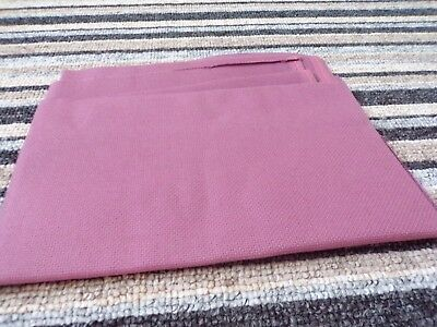 "**Large Piece of Deep Pink 18 count aida 28.5 x 20.5"" **"