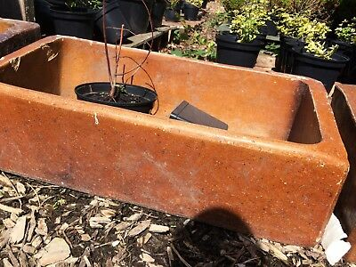 Troughs agricultural used, ideal for garden planters