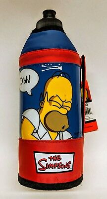 The Simpsons Homer Simpson Water Bottle Brand New Never Used with Original Tags