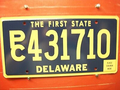 Delaware = 2015 Apr  = Passenger   = License Plate = 450