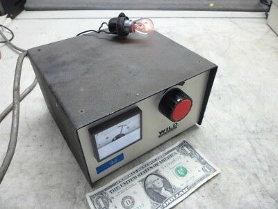 Wild Heerbrugg Typ Mtr 19 Microscope Illuminator Lamp Power Source