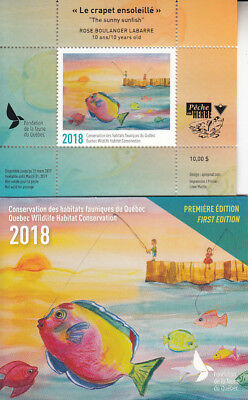 Canada  QUEBEC Wildlife Conservation 2018 DQ-90  JUNIOR