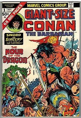 Giant-Size Conan The Barbarian #1 1974 Marvel Bronze Age First Issue Nice!