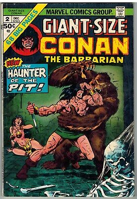Giant-Size Conan The Barbarian #2 1974 Smith Buscema Marvel Bronze Age!