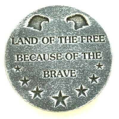 Eagle Land of the Free mold  plaque plastic casting plaster concrete mould