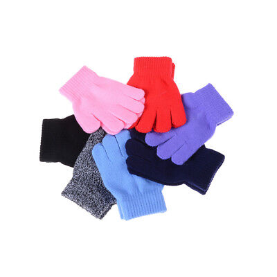 Winter Warm Gloves Knitted Mittens Kids Gloves Full Finger Glove Knitted DSUK