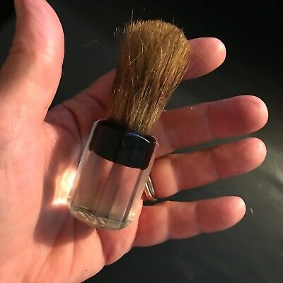 Vintage Ever-Ready Shaving Brush 250 Clear Lucite Handle