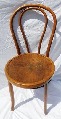 Bentwood Parlor Chair Wood Ice Cream Parlor Chair Vintage Czech