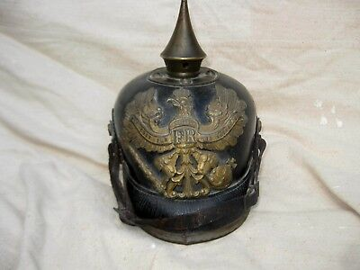Complete original Prussian O/R  Pickelhaube from Michael baldwin collection