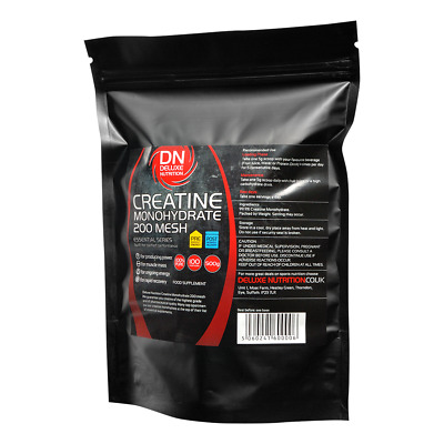 Creatine Monohydrate 500g 200 Mesh Ultra Micronised Powder 100% PURE VEGAN