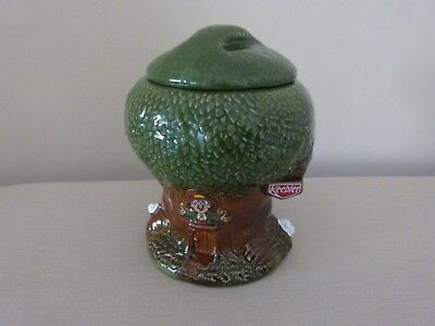Vintage Keebler Elf Treehouse Cookie Jar  Limited Production 1980's Excellent