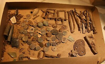 Constitution Island / Fort Constitution 60+ Artifacts found in 1917 - West Point