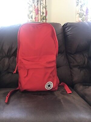 Converse Chuck Taylor All Star EDC Poly Backpack Red 10003329-a03 600 NWT 2436e7fee1