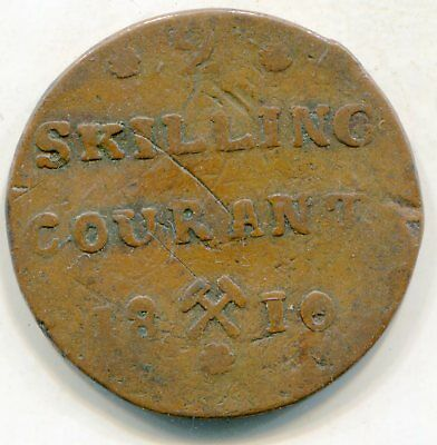 Norway 2 Skilling 1810 lotsep2558