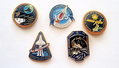 Nasa Space Shuttle Endeavour Sts-77, Sts-97, Sts-111, Sts-126 /2000-2008/ 5 Pins