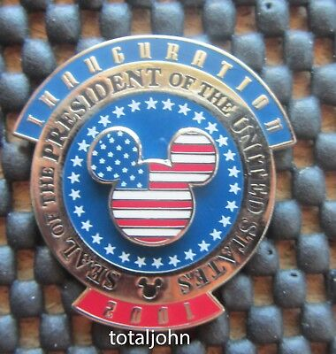 Disney WDW - Inauguration 2001 Seal of the President Pin