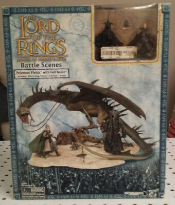 PELENNOR FIELDS WITH FELL BEAST - Lord of the Rings - ARMIES OF MIDDLE-EARTH