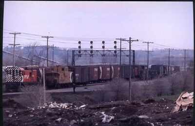 Railroad Photo Canadian Pacific Rwy Rs 23 # 8030 Cn/cp Transfer Kingston,on 1978