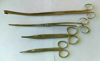 Surgical Medical Instrument Scissors and Forceps.