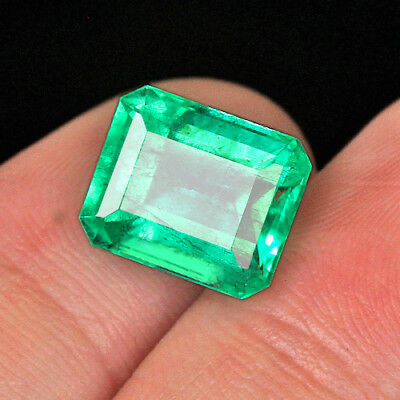 5.05CT 100% Natural Muzo Colombian Emerald Collection QMDaT188
