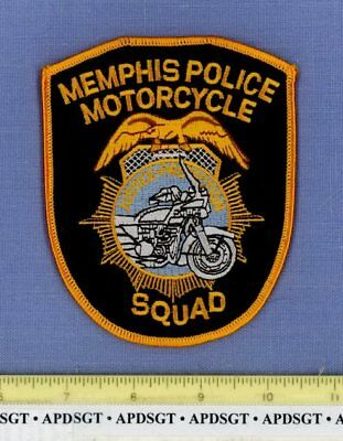 MEMPHIS MOTORCYCLE SQUAD TENNESSEE Sheriff Police Patch MOTOR TRAFFIC UNIT