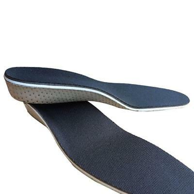Unisex Shoe Height Increase Air Cushion Pad Heel Lift Shoes Insert Insoles J