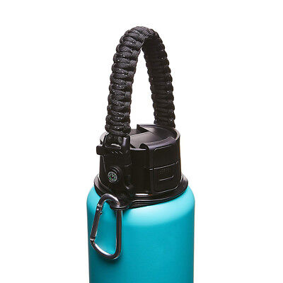Paracord Handle Strap Cord Safety Ring & Carabiner for Hydro Flask Wide Mouth 4