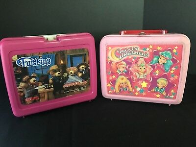 Vintage Furskins and Moon Dreamers Lunchboxes-1980's!
