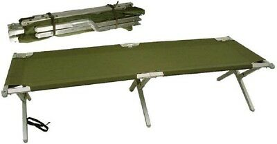 Army Military Army Alu Folding cot Outdoor US Feldbett Bett Camping Liege