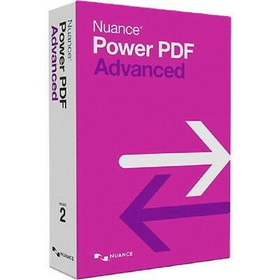 Nuance Power PDF Advanced v2.1 For Windows - Instant Delivery