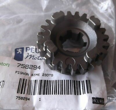 Genuine Peugeot XPS125 Output Shaft 4th Gear PE758294
