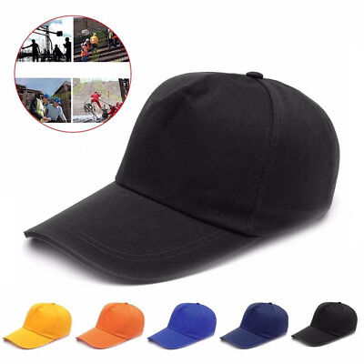 Cool Baseball Style Bump Cap Hard Hat Safety Head Protection Work Helmet Hat Hot