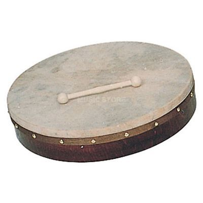 "Percussion Plus - PP1112 Bodhran 18"" plain, inkl. Beater, bag, book"