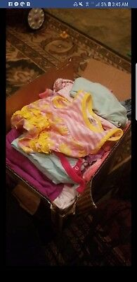 baby girl clothes 0-3 and 3-6  months lot Summer