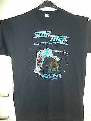 Vintage T-Shirt: Star Trek NG: Klingon Bird of Prey (L) (USA,1991)