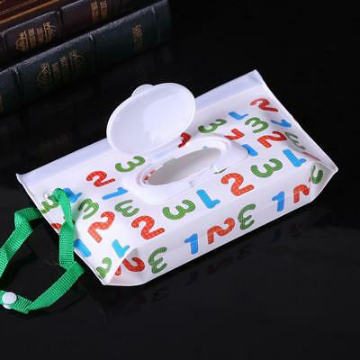Clean Wipes Carrying Case Wet Wipes Bag Cosmetic Pouch Wipes Container Baby HOT