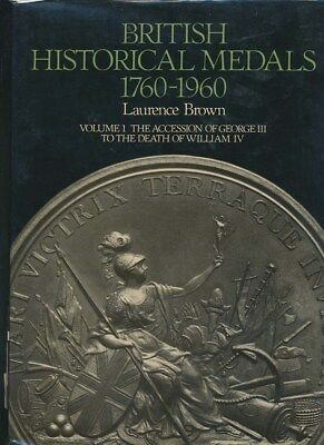British Historical Medals 1760-1836 Catalogue with Valuation, 469 Pgs A must own