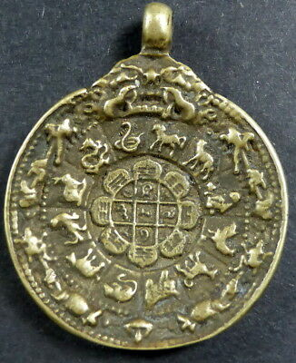 SUPERB GENUINE TIBETAN Shaman MELONG TOLI BRONZE MIRROR OVER 50 years old RARE
