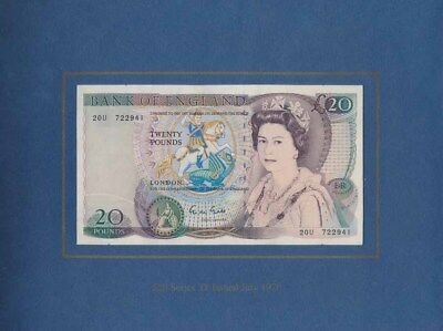 "Great Britain: 1991 Bank of England ""RARE PAIR OF LAST £5 & £20"". UNC Cat $273+"