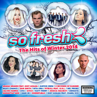 Various ‎– So Fresh: The Hits Of Winter 2014 CD/DVD 2014 NEW/SEALED