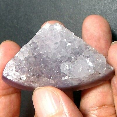 154ct Huge Purple CHALCEDONY Freeform ~100% Natural Sparkling Druzy Crystals~