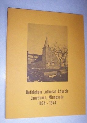 Mint Book, 1974, Bethlehem Lutheran Church, Lanesboro, Mn.
