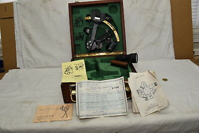 C. Plath Traditional Sextant*Brass arch*SN 63XXX Used Condition