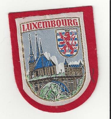 Country of Luxembourg Souvenir Patch