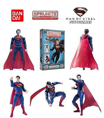 "BANDAI SpruKits DC Comics - Man of Steel  Superman - 5"" version - Level: 2"