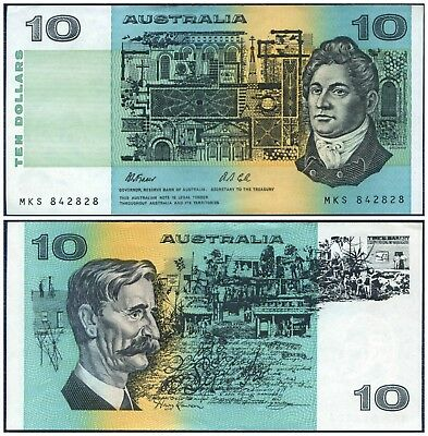 1991 Reserve Bank Of Australia : 10 Dollars