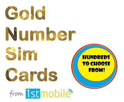 07435 901 900. NEW Gold VIP number sim card pack. Easy transfer to any network